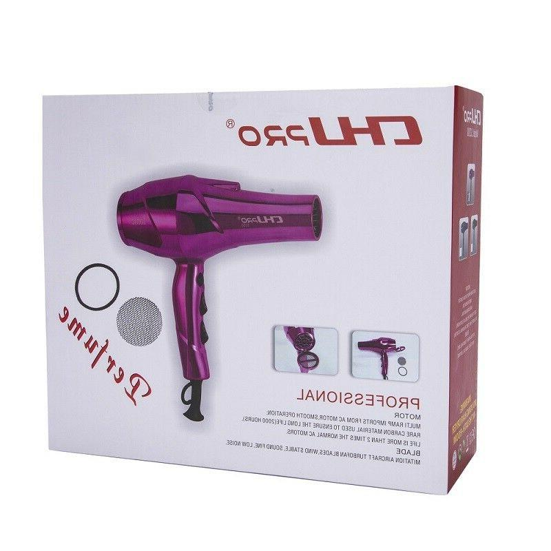 CHJ 2100W Blow 2 Spped Infrared Fragrance Ionic Hair Dryer