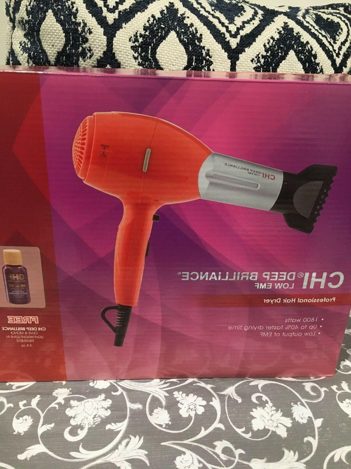 deep brilliance orange hair dryer 1800 watt