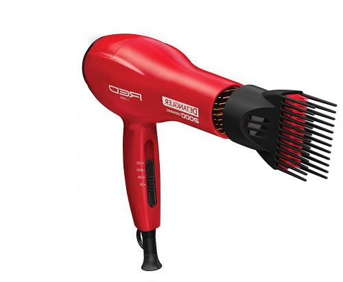 Hair Blow Dryer With Comb Attachment Best Professional No Fr