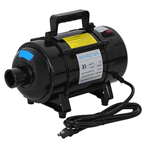 Nova Microdermabrasion Grooming Dryer Blower Adjustable w/3 Nozzles 2 Filters