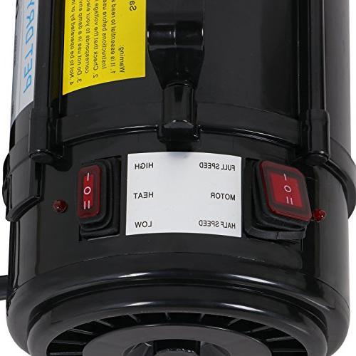 Nova Dog Grooming Blower Heater Speed w/3 Filters