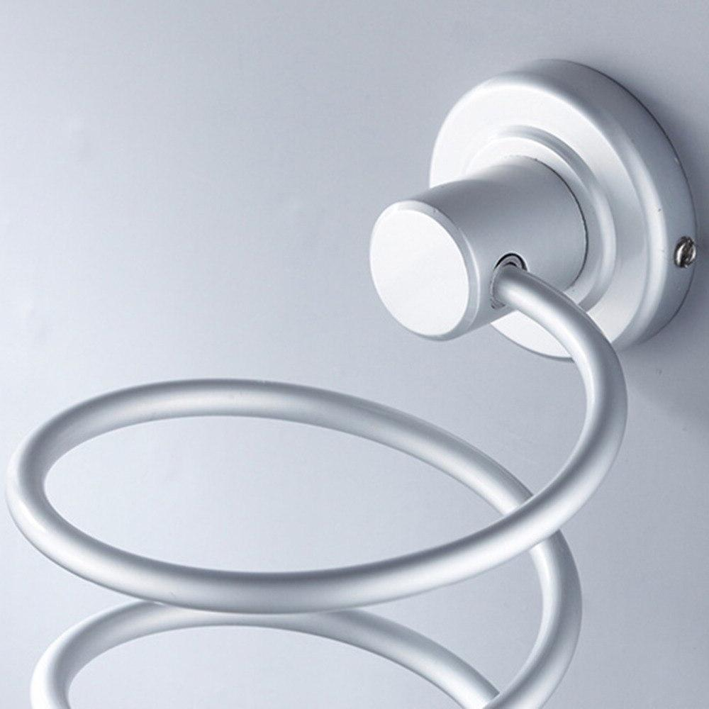 Durable Hair <font><b>Dryer</b></font> <font><b>Holder</b></font> Aluminum Bathroom Storage Storage Accessories