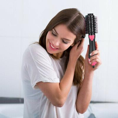 Electric Hot Brush Blow Dryer &
