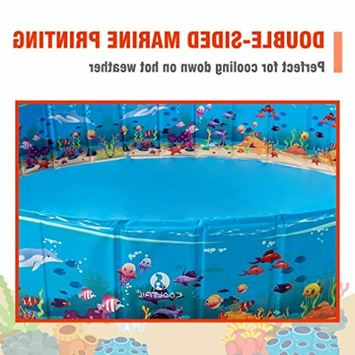 KOOLTAIL Foldable Pool - Extra Pet - Summ