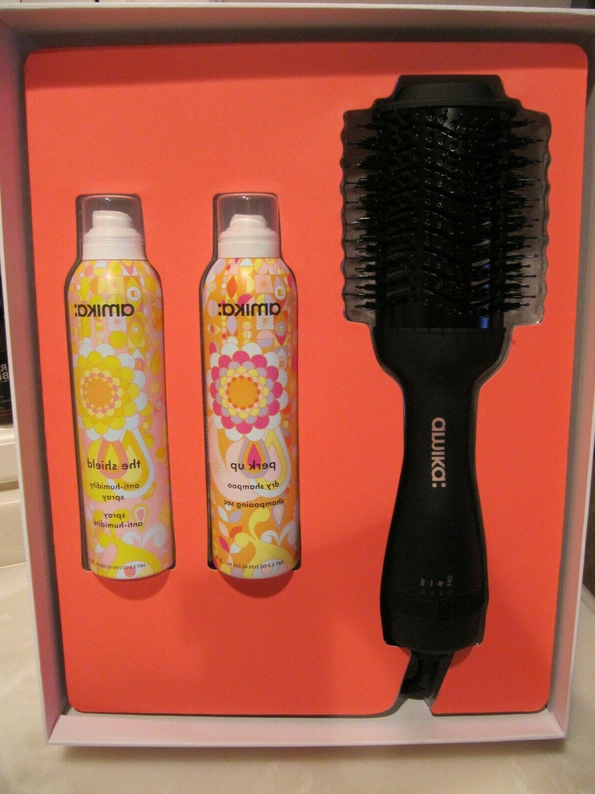 hair blow dryer brush and perk up