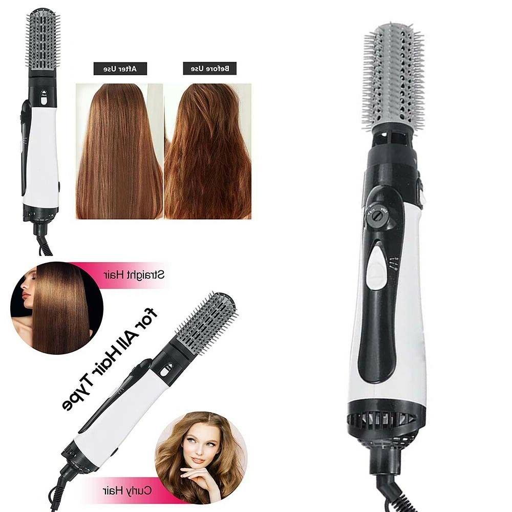 Hair Iron Curling Hot Curler Brush Ionic Set