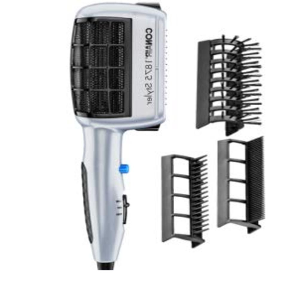 hair blow dryer styler straight curl silky