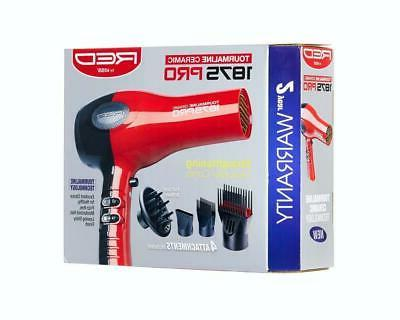 Hair Blow Dryer With Comb Attachment Professional No Frizz I