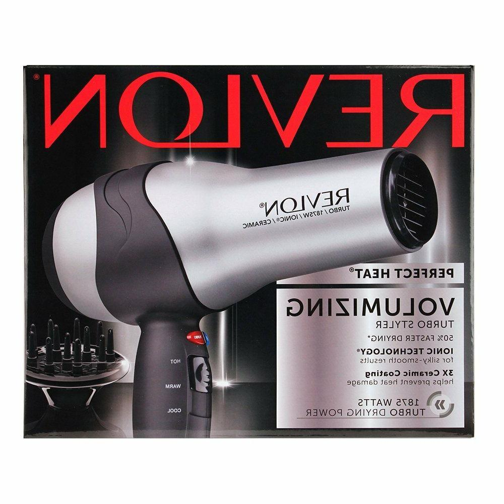Hair Blow Dryer with Diffuser Salon Pro 2 Speed Professional