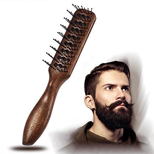 hair brush round nylon bristles