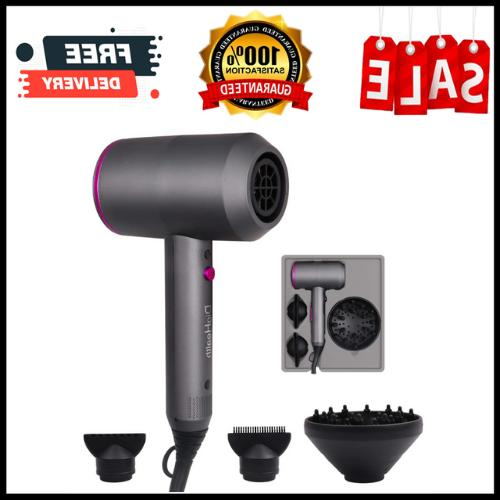 Hair Dryer 1800W Ionic Blow Dryer DYSON Style Constant Tempe