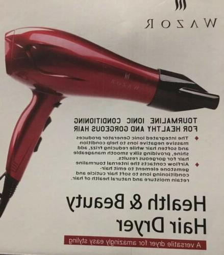 Wazor Hair Dryer Ceramic Dryer Ionic Dryer Lightweight..