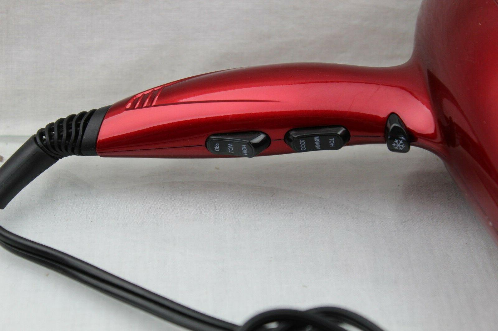 Jinri Hair Dryer 1875W Lightweight DC Ionic Blow