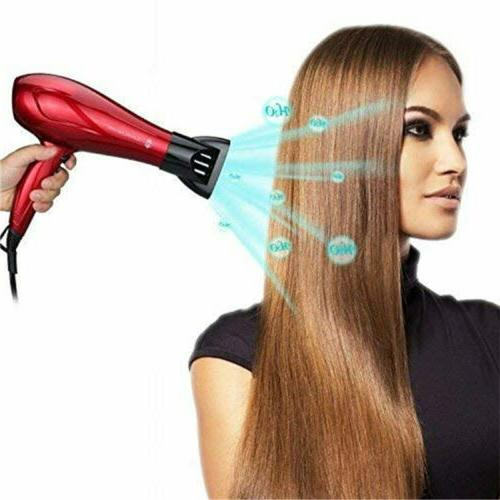 Professional Hair Dryer Ionic Blow Heating with 1875W US