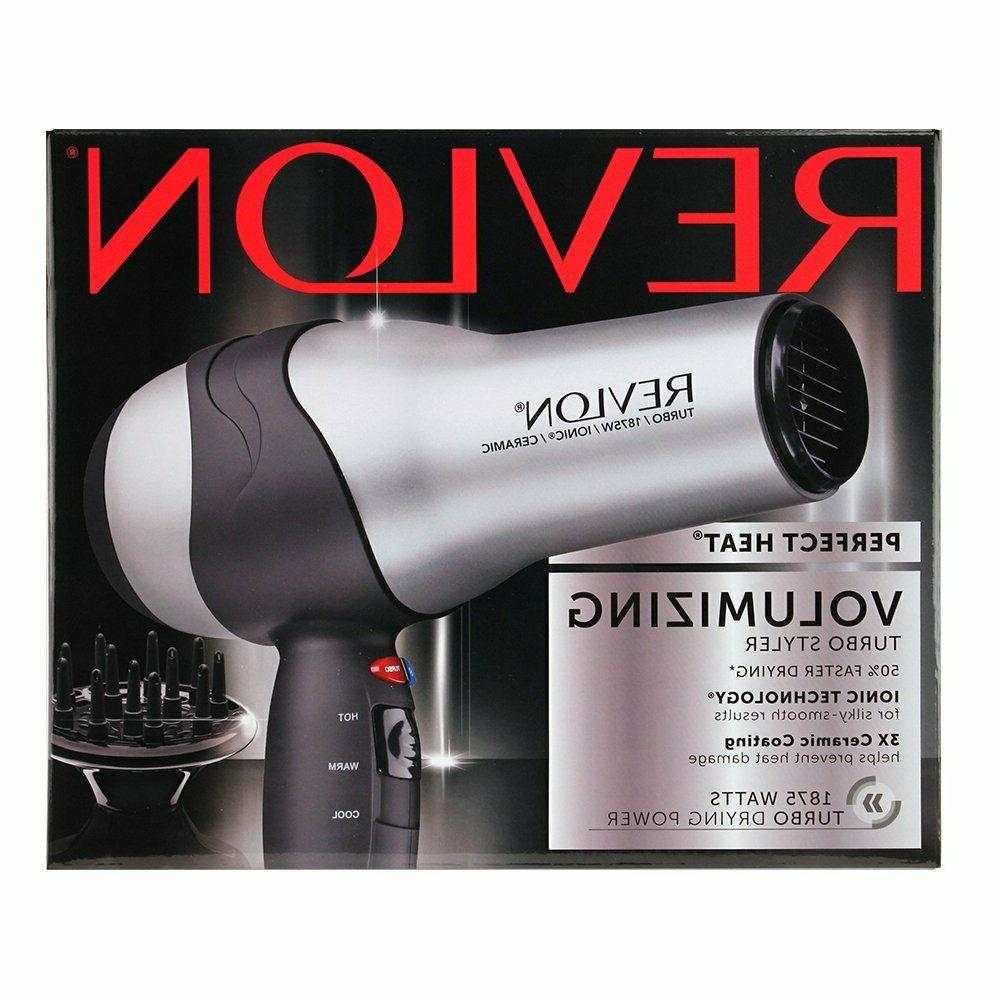 Revlon Perfect Blow Diffuser Volumizing Turbo Dryer Styler