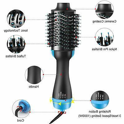 Hair Dryer - Multifunctional Hot Air Round Blow Dryer