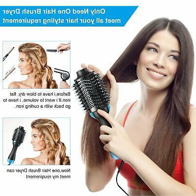 Hair Multifunctional Round Brush Blow - One