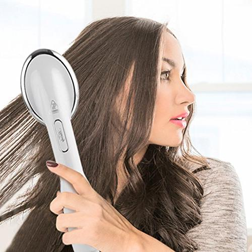 Straightening Brush, Heated, Hair Dryer, and Static, Hair Dryer for and