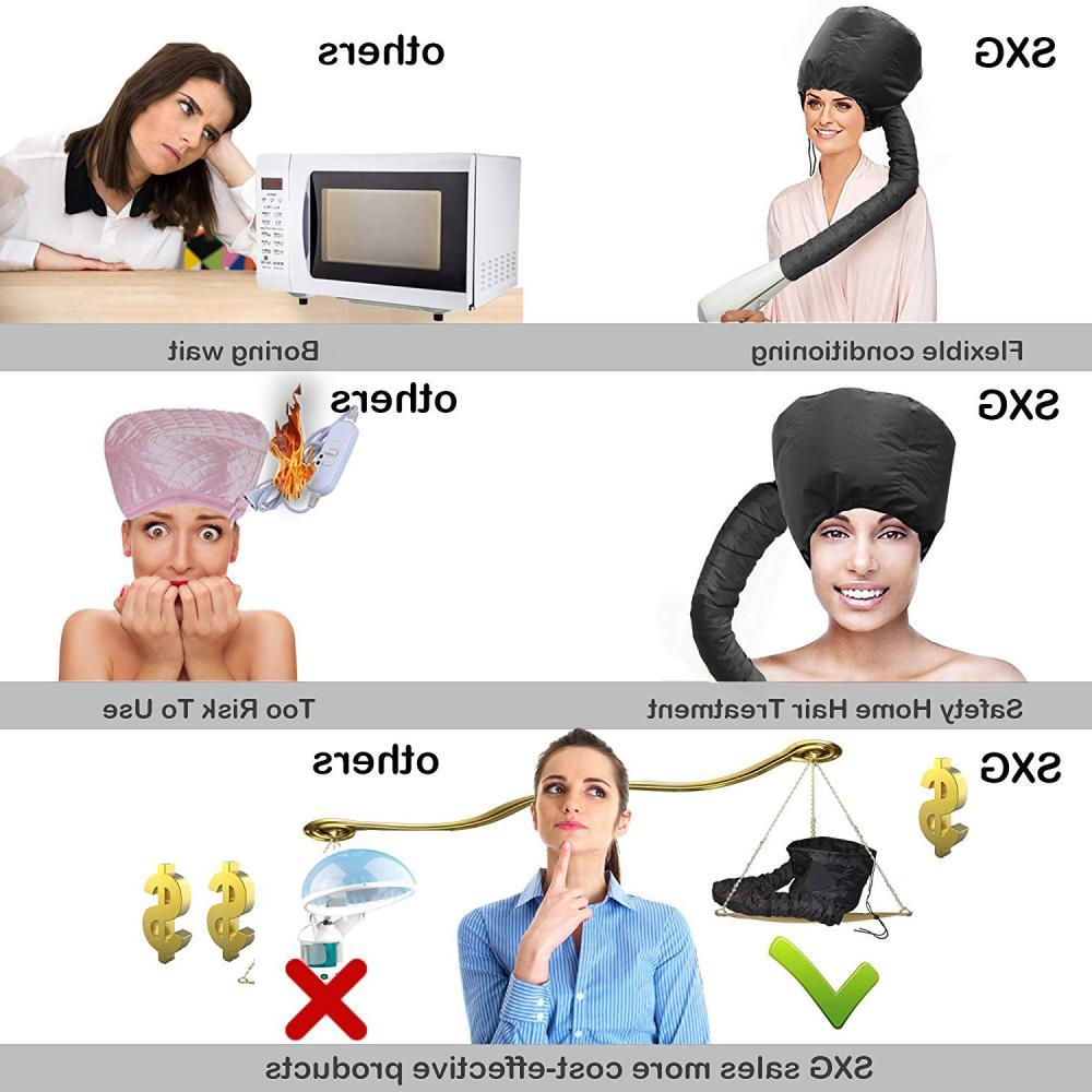 Hair Dryer Blow Hot Air Hat Hair