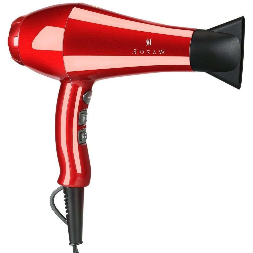 Wazor Hair Ceramic Negative Far Infrared Heat Blow Dryer Light