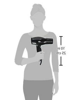Hair Dryer Compact Styler Cool Shot Adjustable Heat Women Blower