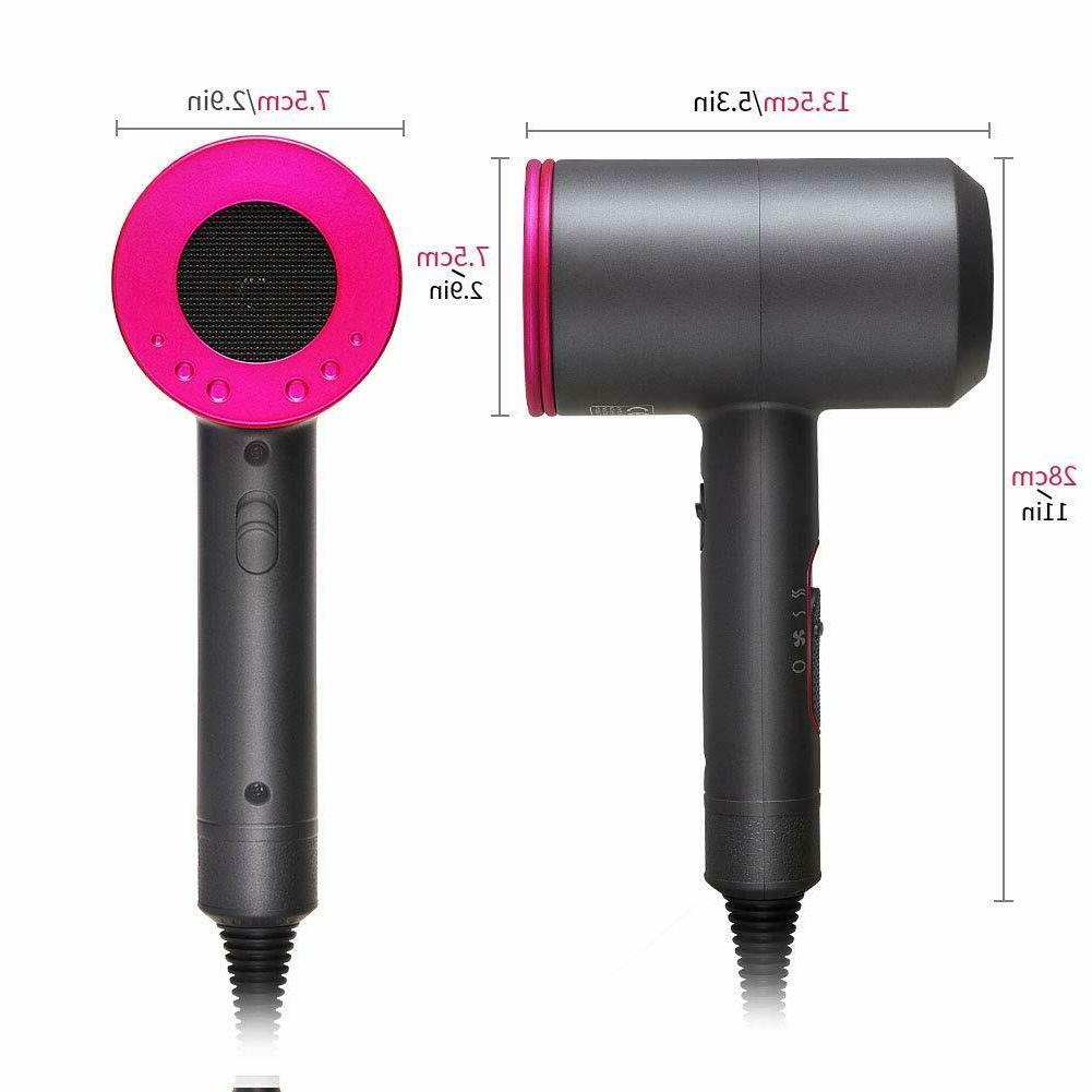 HAIR DRYER Professional 1800W Negative Ionic Blow