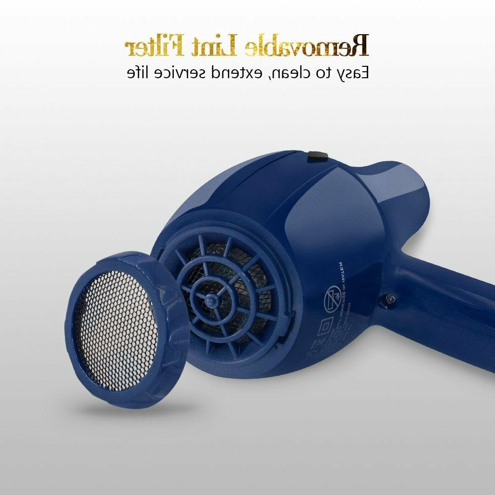 Ouiast Blow dryer AC Motor, Smooth Drying