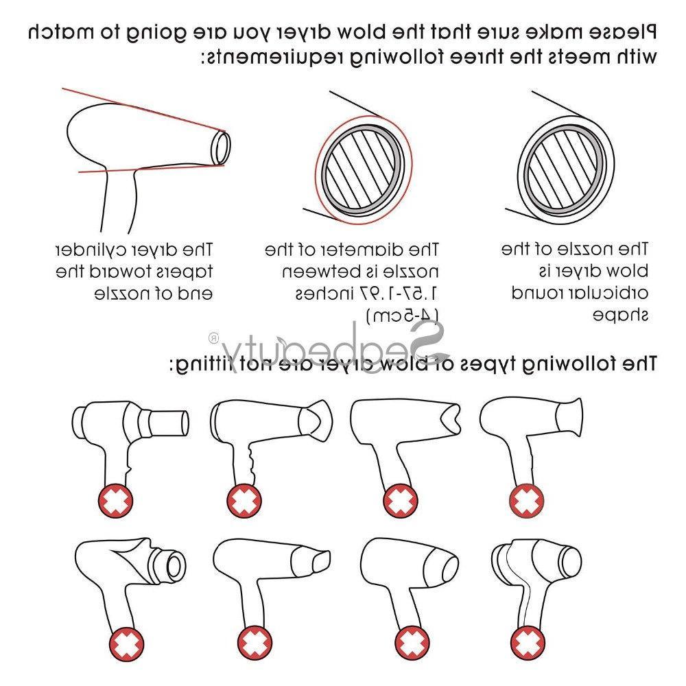 Hair <font><b>Dryer</b></font> Detangling <font><b>Blow</b></font> <font><b>Dryer</b></font> Styling <font><b>Dryer</b></font> Hairdressing Salon Tool Pic