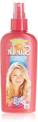Sun-In Hair Lightener Spray, Tropical Breeze 4.70 oz