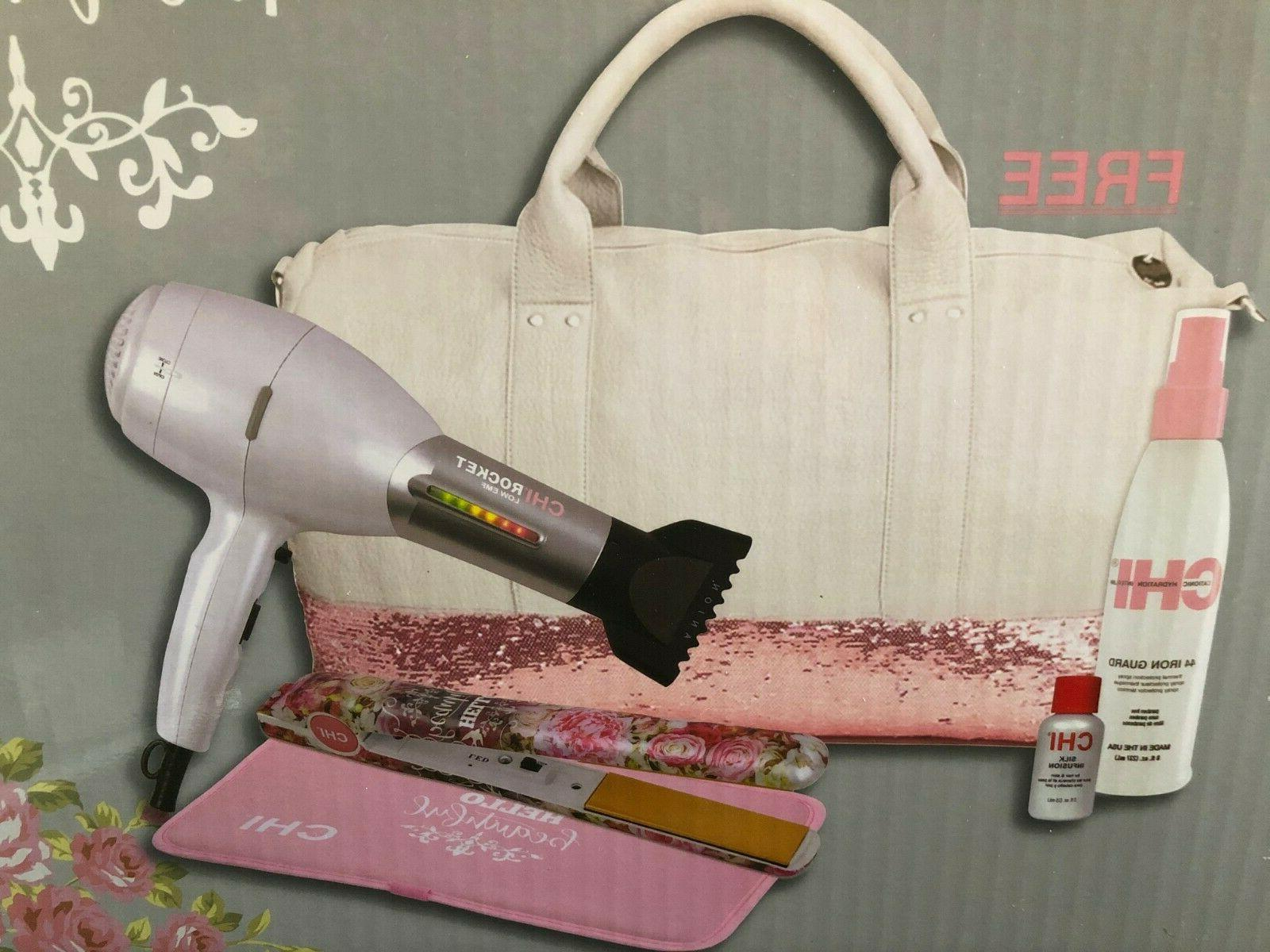 hello beautiful limited edition blowdryer and flat
