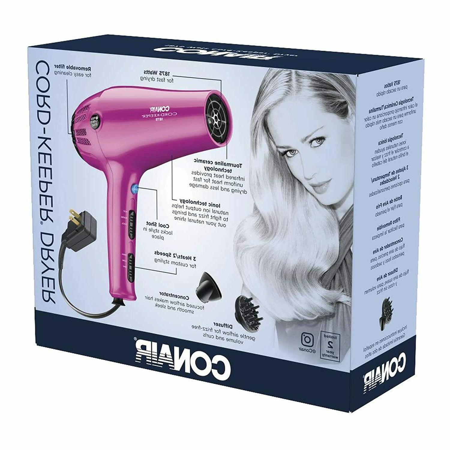 Ionic Professional Speed with Diffuser Pink