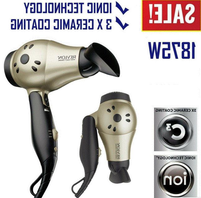 ionic hair dryer professional travel turbo blow
