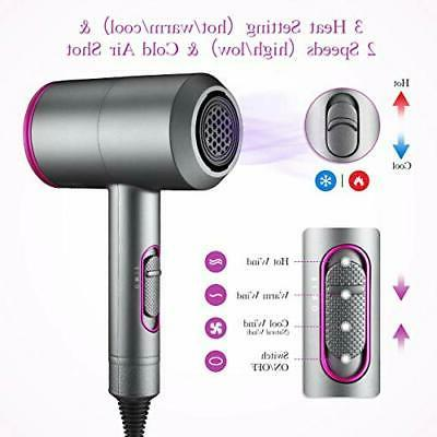 Ionic 1800-2000W Hair Blow Dryers with