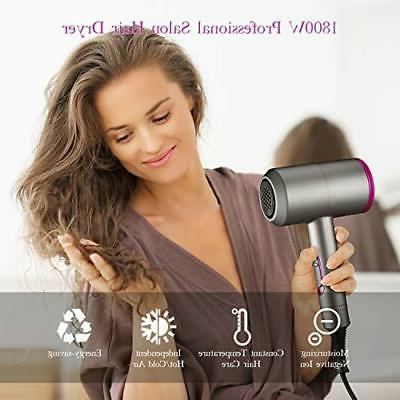 Ionic Hair Dryer, ROIFLY 1800-2000W Professional Blow Dryers with Types