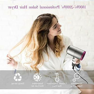 Ionic Hair Dryer, 1800-2000W Professional Hair Blow Dryers 3