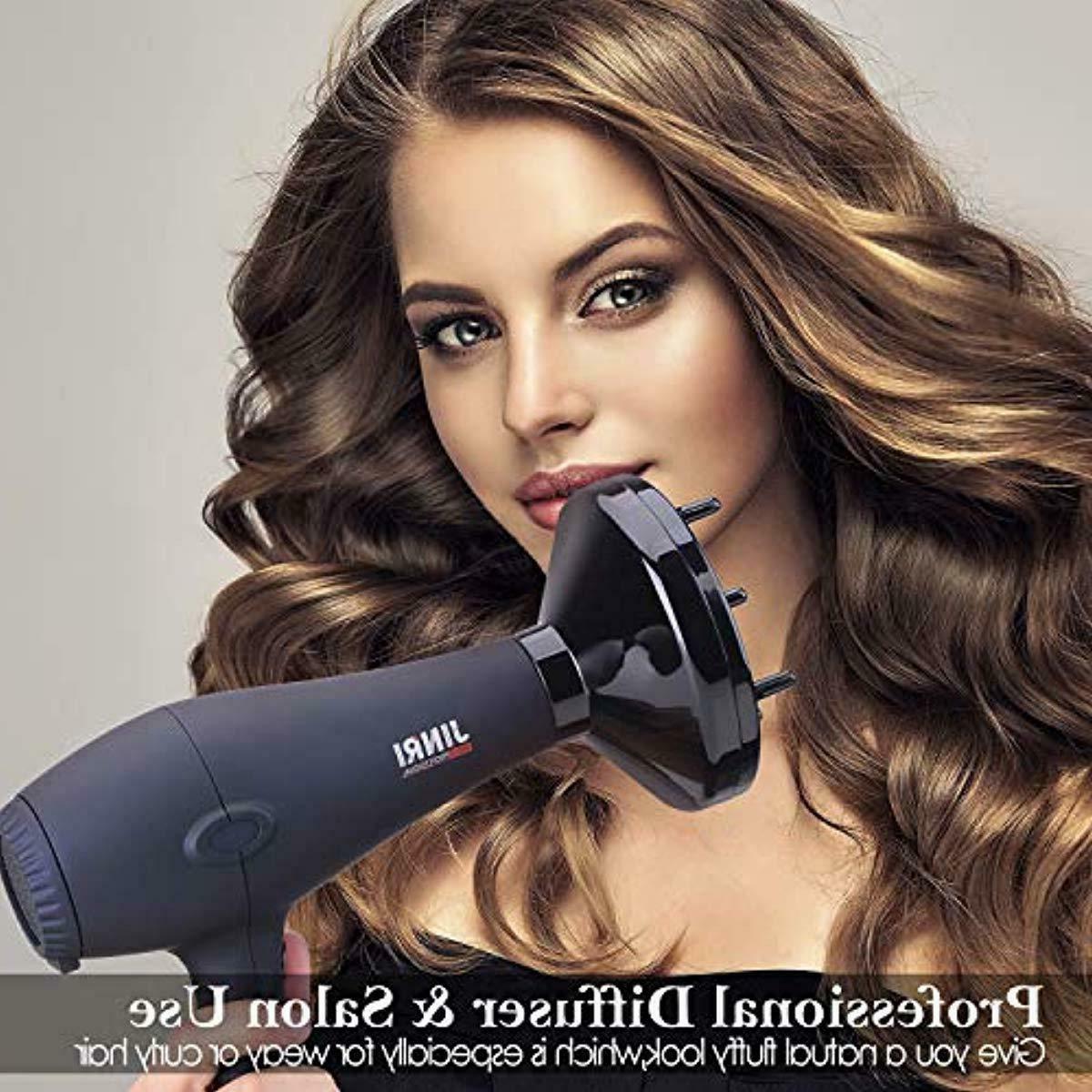 JINRI Salon Grade Hair Dryer,DC Motor Negative Ionic Blow
