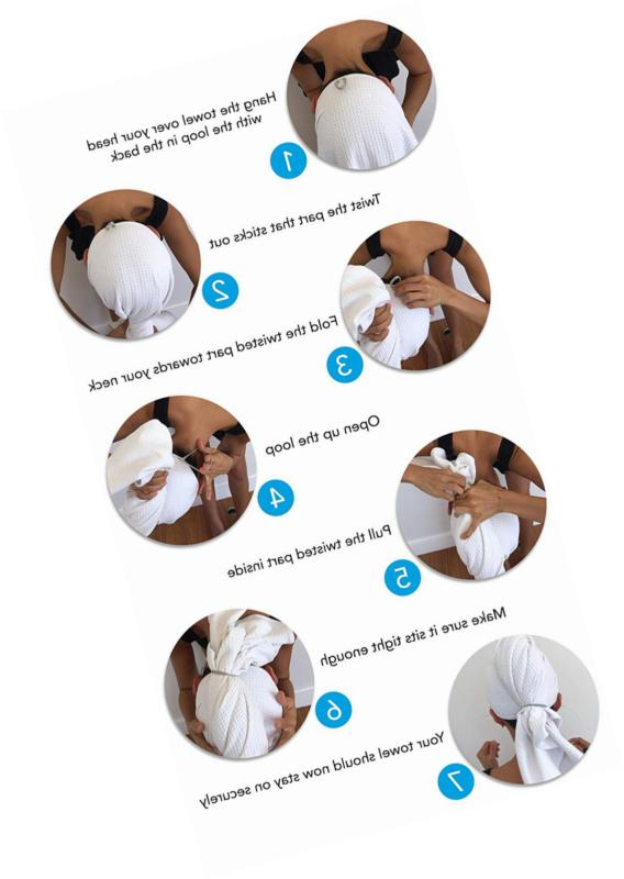 Microfiber Towel For Frizz-free Drying Large, Comp