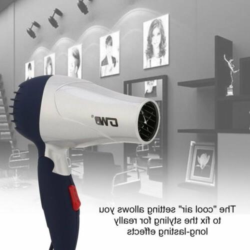 Mini Foldable Dryer Low Noise Traveller Compact 220V ND