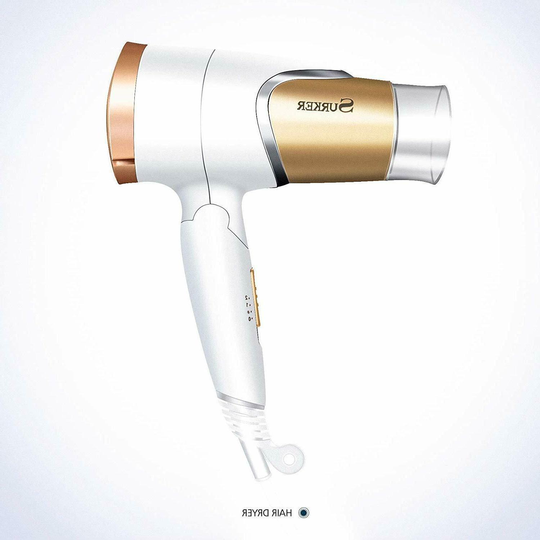 Mini Folding Negative Hair Dryer Dual Voltage