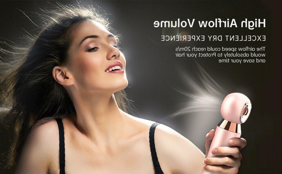 Mini Hair Lightweight Fast Dryer brush smooth US