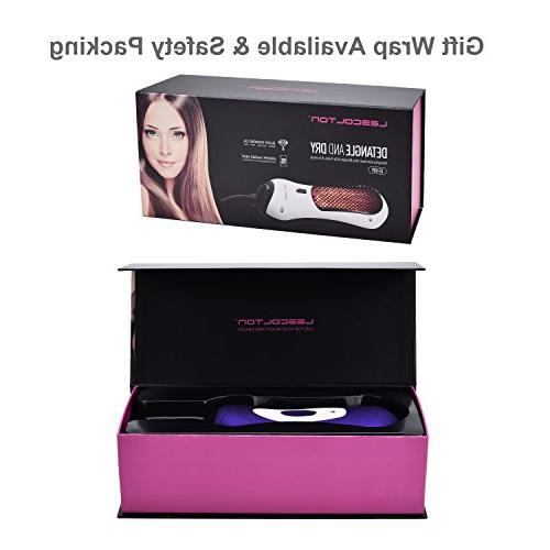 BANGMENG Mini Blow Dryer & Hot Air Paddle With Ion Generator Hair Straightener For Hair | Eliminate Hair &
