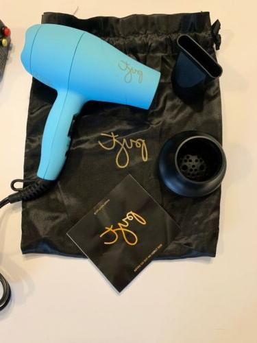 PYT TURQUOISE Blow Dryer Atrahments w/Bag