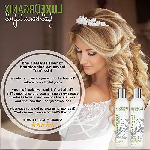 Moroccan and SLS and for Damaged, Frizzy Thickening for Fine Safe for and
