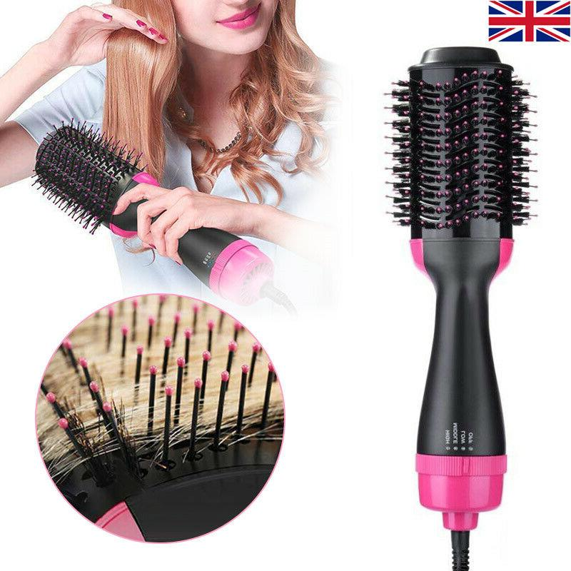 multi function hair blow dryer brush comb