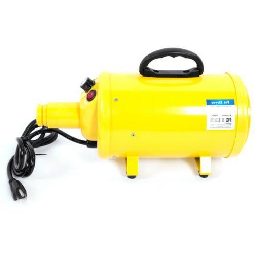 New Dryer Pet US Yellow