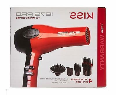 NEW HAIR BLOW DRYER WITH COMB ATTACHMENT PROFESSIONAL NO FRI