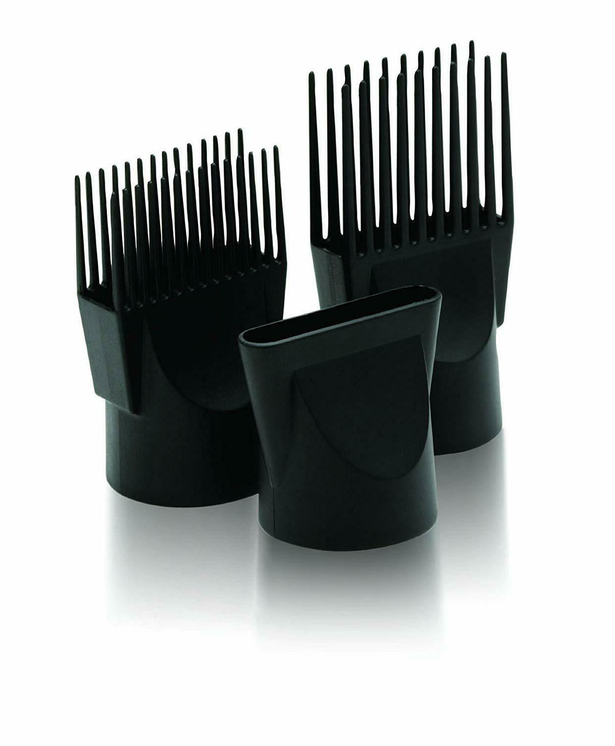 New Hair With Comb Attachment Professional No Frizz
