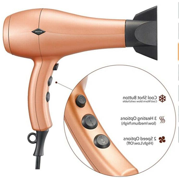 NITION Negative Hair Attachment Ionic