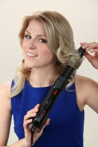VoluLUXE & Volumizer Curler Styler Negative Ions Hair | 5-in-1 - Dryer, Curling Straightener