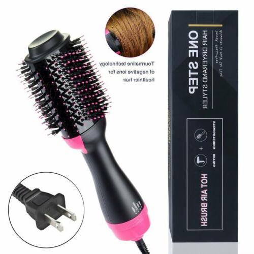 3in1 One-Step Hair Straightener Dryer Volumizer
